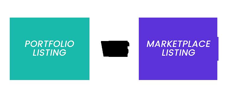 Portfolio Sites Vs. MarketPlace sites