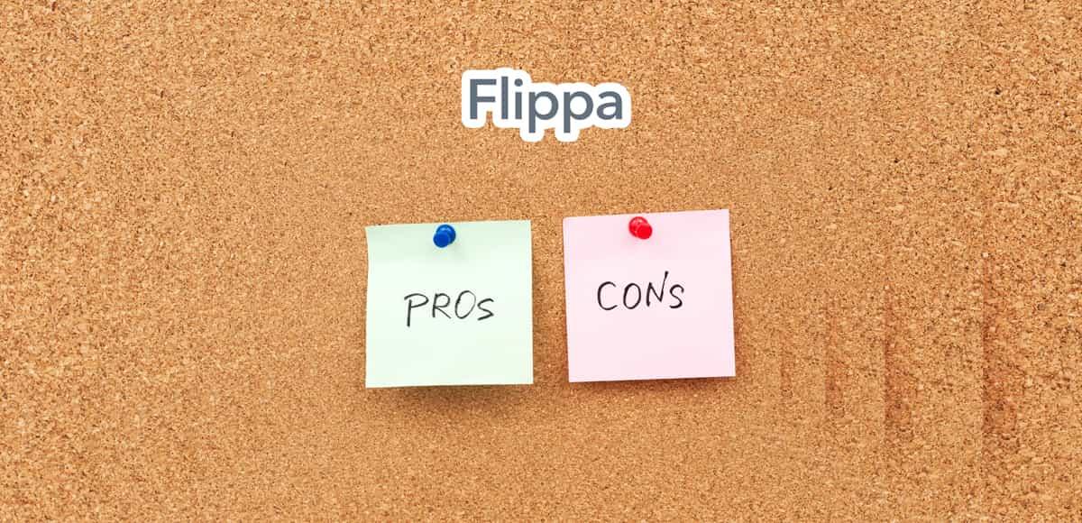 Pros & cons of flippa